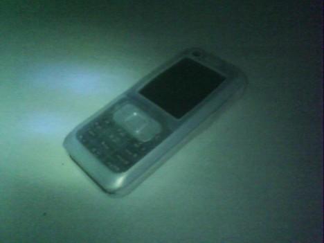 hasil kamera belakang SPC Boss 1000 dengan nightmode dan flash indoor