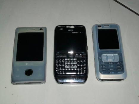 Perbandingan 3 HP datz, HTC Touch Diamond, SPC Boss 1000, Nokia 6120C