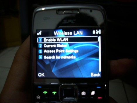 setting WLAN SPC Boss 1000