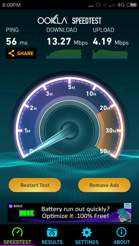 4G LTE XL 1800Mhz