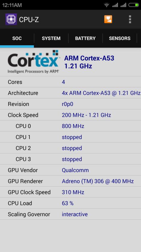 CPU-Z Detail