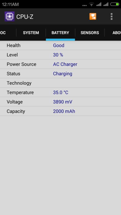 CPU-Z Battery